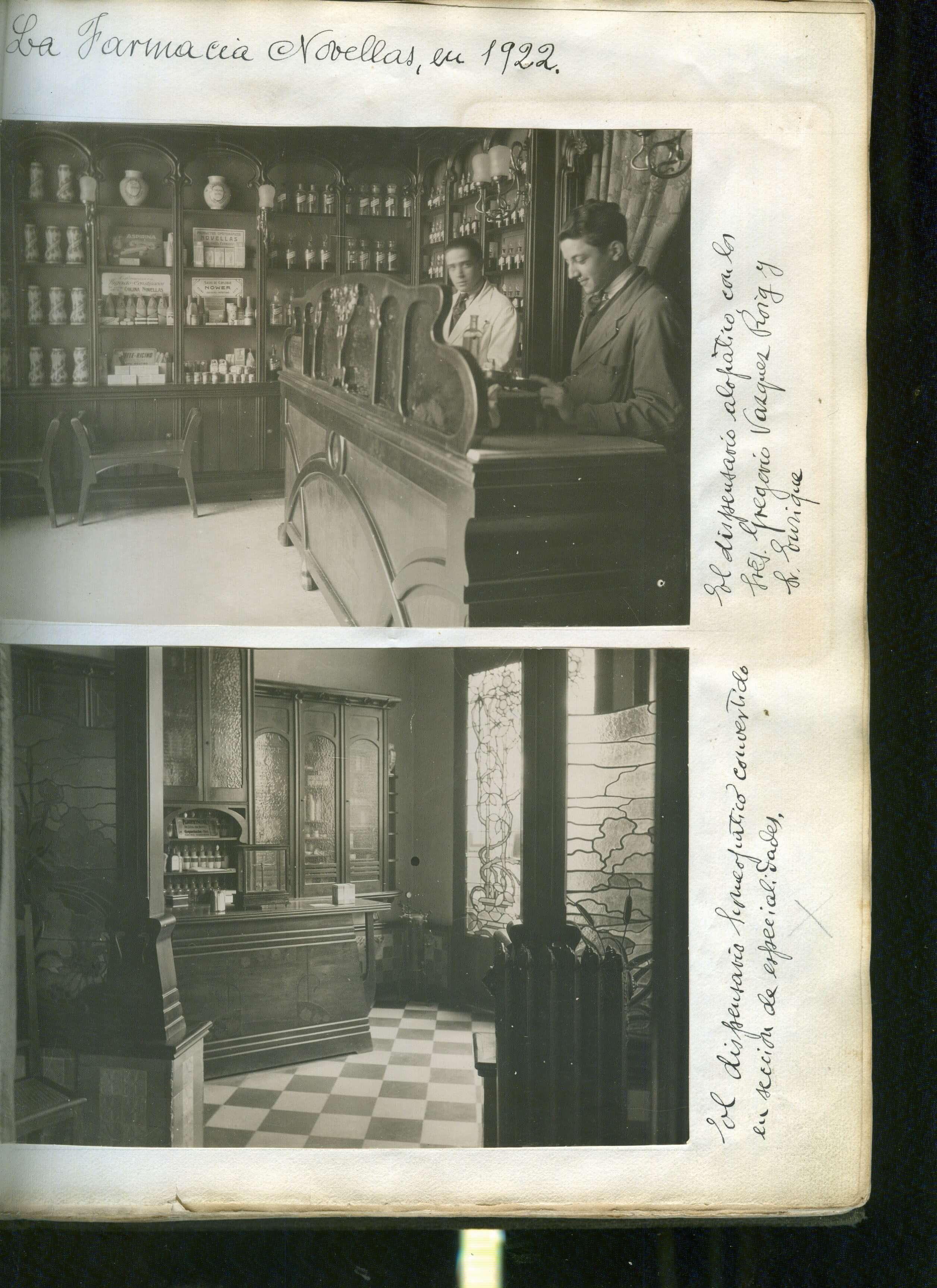 Farmacia Novellas 1922